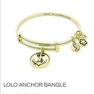 LOLO by Lauren Adams Anchor Bangle